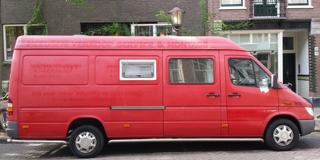 Celestial Bus, mijn Mercedes-Benz Sprinter